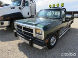 1993 Dodge Pickup Appx 208,945 Miles Vin # 3b7ke23c8pm141739 (title On Hand And Will Be Mailed Withi