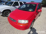 2005 Chevrolet Aveola Car Appx 168,918 Miles Vin # Kl1td52645b395464 (title On Hand And Will Be Mail