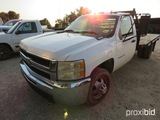 2008 Chevrolet Duramax 3500 Hd Flatbed Pickup Appx 178,376 Miles Vin# 1gbjc34608e186850 (title To