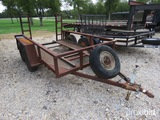 9.6' Lowboy Trailer (new Tires) Vin # Tr221517 (registration Paper On Hand And Will Be Mailed Within