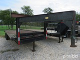 26' Gooseneck Trailer W/ Dovetail And Ramps Vin # Tr195653 (title On Hand And Will Be Mailed Within