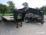 2003 Tophat 30' Tandem Dual Trailer W/ Dove Vin # 4r7g0302x3t046894 (title On Hand And Will Be Maile