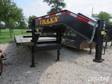 2019 Traxx 32' Tandem Dual Gooseneck Trailer W/ Dove Vin # 4t9tgfg24k1116116 (title On Hand And Wil