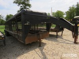 1999 32' Gooseneck Cattle Trailer Vin # 16gs63236yb075023 (registration Paper On Hand And Will Be Ma
