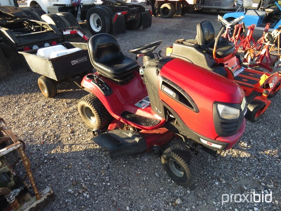 CRAFTSMAN YTS3000 RIDING MOWER AND LAWN TRAILER  (SERIAL # 092110A037150