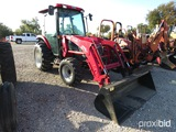 TYM T433 TRACTOR AND LOADER SHOWING APPX 380 HOURS (SERIAL # 435TG00791)