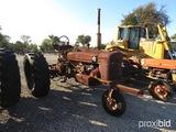 FARMAL SUPER H TRACTOR SERIAL # 18604-J
