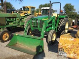 JD 5303 TRACTOR W/ JD 510 LOADER (SHOWING APPX 929 HOURS) (SERIAL # PY5303U001953)