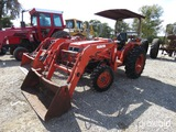 KUBOTA 3300 TRACTOR W/ LOADER (SHOWING APPX 2,146 HOURS)