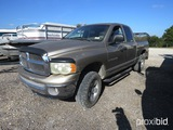 2002 DODGE PICKUP VIN # 3D7HU18N72G166310 (SHOWING APPX 226,655 MILLES) (TITLE ON HAND AND WILL BE M