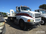 2000 STERLING BOOM TRUCK VIN # 2FWYJEDB7YAB51963 (SHOWING APPX 124,799 MILES) (TITLE ON HAND AND WIL