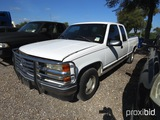1996 CHEVROLET 1500 PICKUP VIN # 2GCEC19R4T1139514 (SHOWING APPX 198,217 MILES) (TITLE ON HAND AND W
