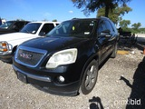 2011 GMC ACADIA VIN # 1GKKRRED0BJ115262 (SHOWING APPX 187,716 MILES) (TITLE ON HAND AND WILL BE MAIL