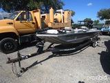 1997 BASS TRACKER PANFISH 16 BOAT W/ 2009 MERCURY 25 MOTOR AND TRAILER (BOAT VIN # BUJ48652J697) (MO