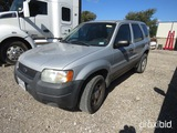 2004 FORD ESCAPE VIN # 1FMYU92134KA14255 (SHOWING APPX 243,666 MILES) (TITLE ON HAND AND WILL BE MAI