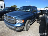 2003 DODGE 1500 PICKUP VIN # 1D7HA18N03S286128 (SHOWING APPX 147,568 MILES) (TITLE ON HAND AND WILL