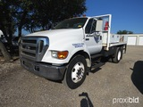 2005 FORD F650 SUPER DUTY (SHOWING APPX 61,896 MILES) (VIN # 3FRNF65Z15V136010) (TITLE ON HAND AND W
