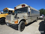 1990 IH SCHOOL BUS (SHOWING APPX 153,724 MILES) (VIN # 1HVBAZRM9LH238509) (TITLE ON HAND AND WILL BE