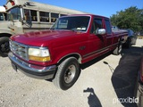 1995 FORD F250 PICKUP (SHOWING APPX 197,224 MILES) (VIN # 1FTHX25G8SKC10496) (TITLE ON HAND AND WILL