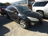 2013 FORD FOCUS CAR (SHOWING APPX 178,000 MILES) VIN # 1FADP3F25DL161915 (TITLE ON HAND AND WILL BE