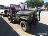 1958 WILLIS CJ5 JEEP (SHOWING APPX 70,088 MILES) (VIN # 5754870088) (TITLE ON HAND AND WILL BE MAILE