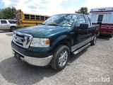 2007 FORD F150 PICKUP (SHOWING APPX 77,593 MILES) (VIN # 1FTRX12W67FA74492) (TITLE ON HAND AND WILL