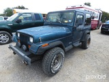 1995 JEEP WRANGLER (SHOWING APPX 176,405) (VIN # 1J4FY19P6SP257547) (TITLE ON HAND AND WILL BE MAILE