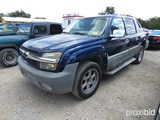 2002 CHEVROLET AVALANCHE (SHOWING APPX 247,972 MILES) (VIN # 3GNEC13T92G288339) (TITLE ON HAND AND W