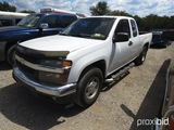 2004 CHEVROLET COLORADO (SHOWING APPX 249,184 MILES) (VIN # 1GCCS196348204982) (TITLE ON HAND AND WI