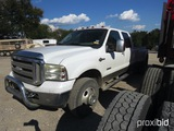 2007 FORD F350 PICKUP (SHOWING APPX 111,459 MILES) (VIN # 1FTWW33P17EB07431) (TITLE ON HAND AND WILL