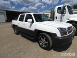 2003 CHEVROLET AVALANCHE (SHOWING APPX 206,646 MILES) (VIN # 3GNEC13T13G112466) (TITLE ON HAND AND W