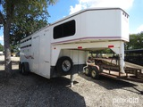 2000 TITAN 3 HORSE SLANT TRAILER VIN # 4TGG18208Y1013626 (MSO ON HAND AND WILL BE MAILED WITHIN 14 D