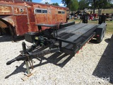 2016 20' LOWBOY CAR HAULER TRAILER (VIN # TR226971) (TITLE ON HAND AND WILL BE MAILED CERTIFIED WITH
