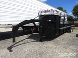54' X 24' GOOSENECK CATTLE TRAILER REGISTRATION RECEIPT ON HAND AND WILL BE MAILED CERTIFIED WITHIN