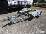 2013 12' CAR HAULER TRAILER VIN # 15DP19209DA986714 (TITLE ON HAND AND WILL BE MAILED CERTIFIED WITH