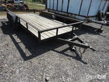 16' LOWBOY TRAILER VIN # 17YBP16254B027721 (TITLE ON HAND AND WILL BE MAILED CERTIFIED WITHIN 14 DAY