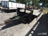 1999 SHOPMADE 20' W/ 5' DOVE TRIPLE AXLE TRAILER (VIN # TR189091) (TITLE ON HAND AND WILL BE MAILED