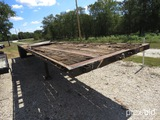 45' TRANSCRAFT FLAT DECK TRAILER (VIN # 1TTF45207F1025798) (TITLE ON HAND AND WILL BE MAILED CERTIFI