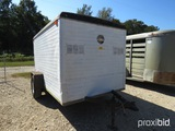 10' CARGO TRAILER (REGISTRATION PAPER ON HAND AND WILL BE MAILED CERTIFIED WITHIN 14 DAYS AFTER THE