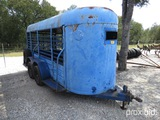 14' CATTLE TRAILER (REGISTRATION PAPER ON HAND AND WILL BE MAILED CERTIFIED WITHIN 14 DAYS AFTER THE