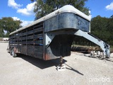 24' CATTLE TRAILER (VIN # 1684124) (REGISTRATION PAPER ON HAND AND WILL BE MAILED CERTIFIED WITHIN 1