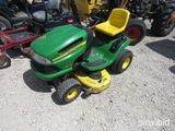 JD LA125 RIDING MOWER (SHOWING APPX 343 HOURS) (SERIAL # 40J-0533035