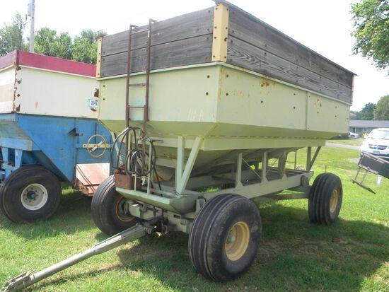 Parker Side-dump Wagon