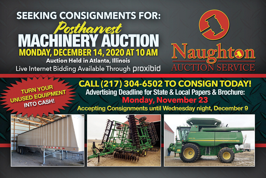 Naughton Auction Post Harvest Consignment Auction