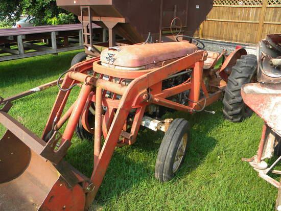 Massey Ferguson 50 Loader Tractor