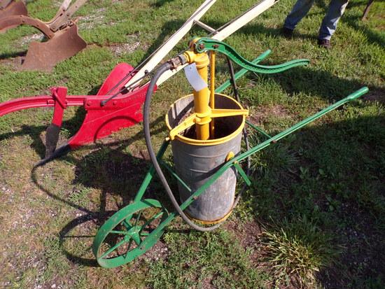Hayes Steel-Wheel Sprayer