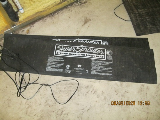 4'X2' Super Sprouter Tray  Easy Seeding Heat Mats
