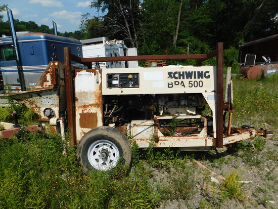 Schwing BPA500 Trailer Line pump with Deutz motor