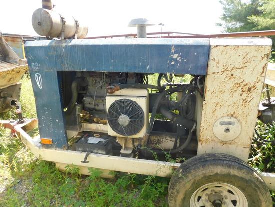 Putzmeister TK50 trailer line pump 2006 Deutz motor