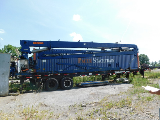 Schwing Placing boom 32 meter w/ powerpack
